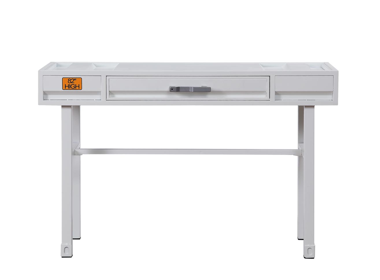 Cargo White Vanity Desk,Acme