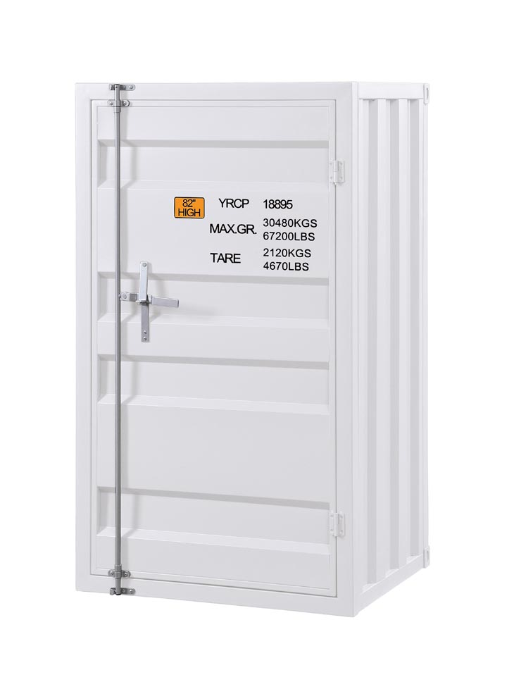 Cargo White Chest (Single Door),Acme