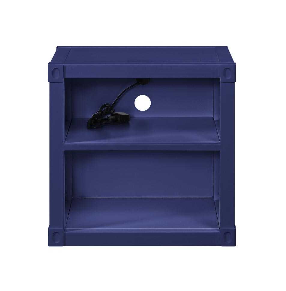 Cargo Blue Nightstand (USB),Acme