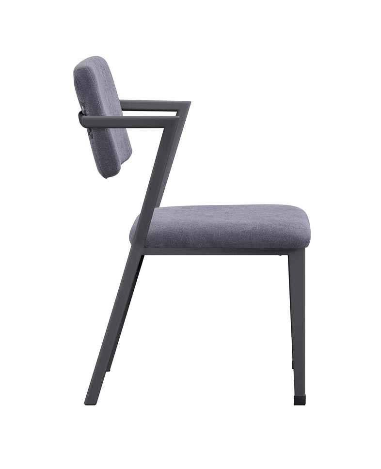 Cargo Gunmetal Chair,Acme