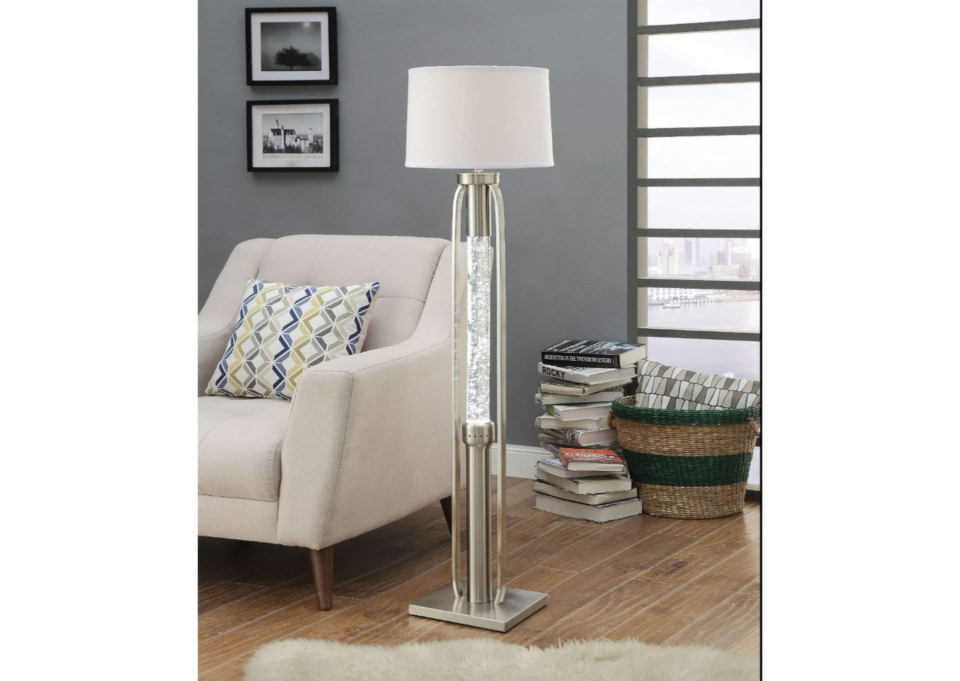 Amazing Best Buy Furniture And Mattress Sinkler Nickel Floor Lamp W Theyellowbook Wood Chair Design Ideas Theyellowbookinfo