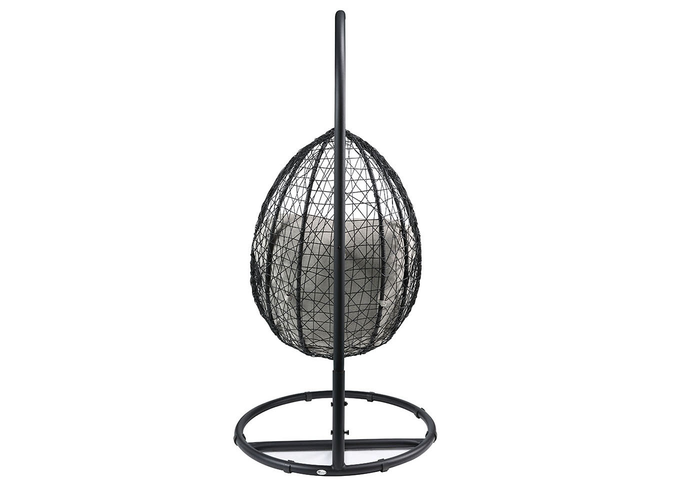 Simona Black Patio Swing Chair,Acme