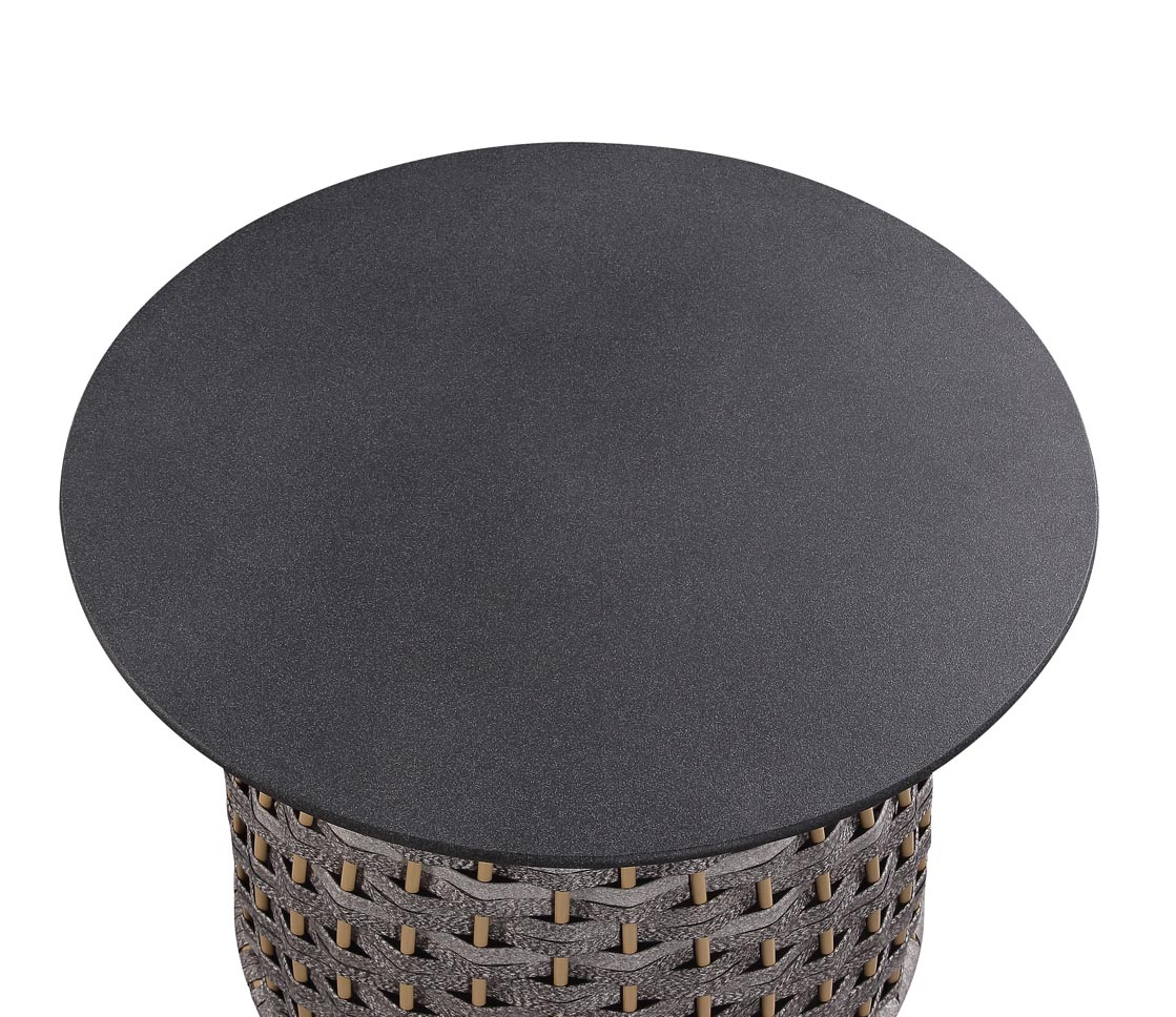 Eskil Two-Tone Gray Patio Table,Acme