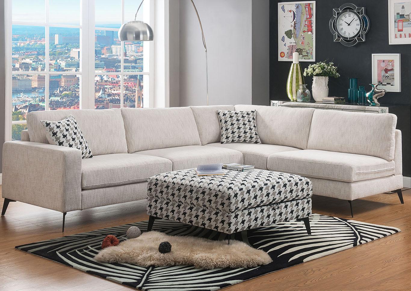 Magnificent 5Th Avenue Furniture Mi Crocosmia Sectional Sofa Dailytribune Chair Design For Home Dailytribuneorg