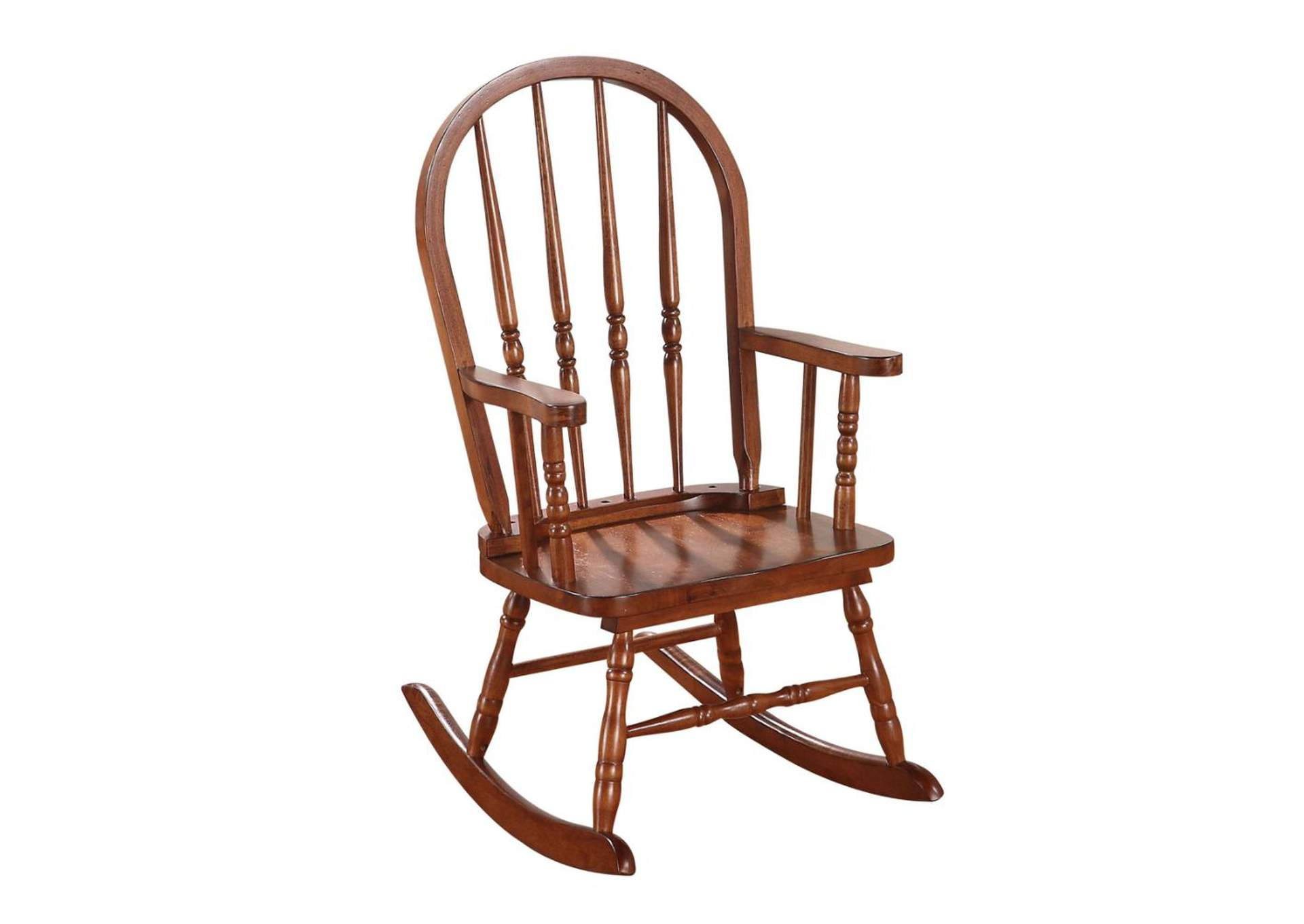 Kloris Tobacco Youth Rocking Chair,Acme