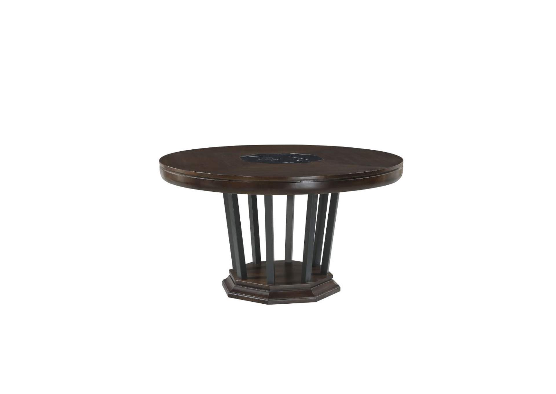 Best Buy Furniture and Mattress Selma Tobacco Round Dining ...