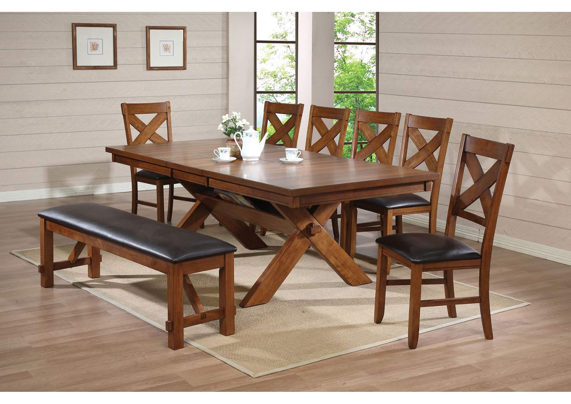Sensational Salinas Furniture Apollo Walnut Dining Table Caraccident5 Cool Chair Designs And Ideas Caraccident5Info