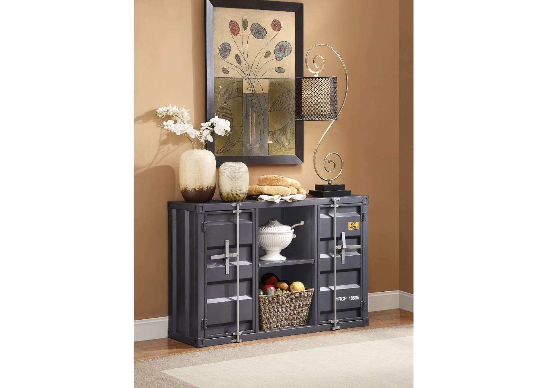 Cargo Gunmetal Server,Acme