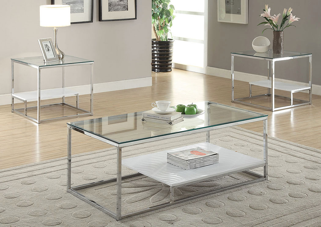 clear glass furniture console ruben chrome clear glass end tableacme direct mattress furniture new rochelle ny