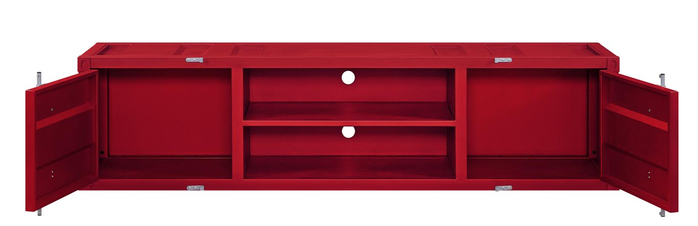 Cargo Red TV Stand,Acme