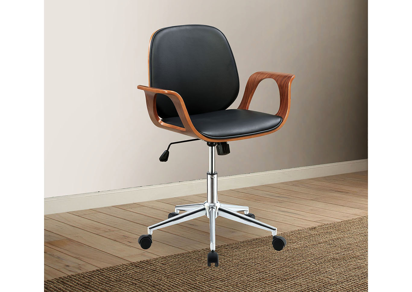 Groovy Best Buy Furniture And Mattress Camila Black Office Chair W Arms Best Image Libraries Counlowcountryjoecom