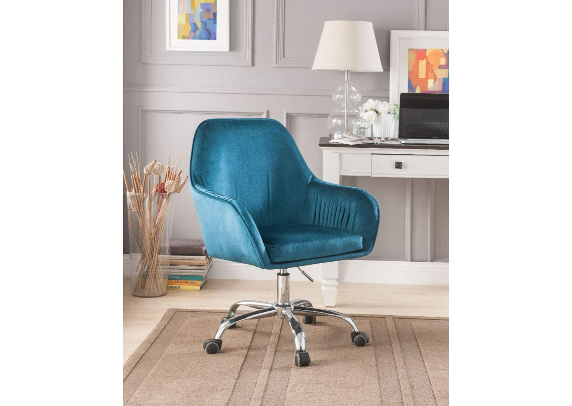 Phenomenal Best Buy Furniture And Mattress Eimer Teal Office Chair Best Image Libraries Counlowcountryjoecom