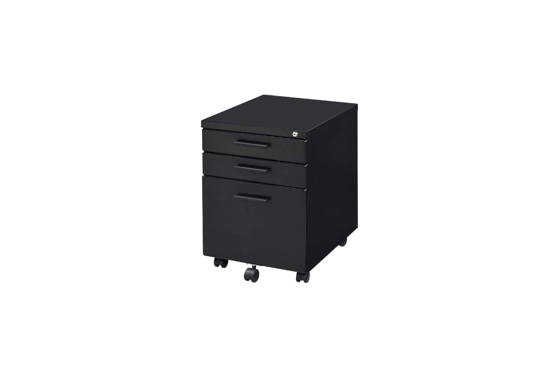 Peden Black File Cabinet,Acme