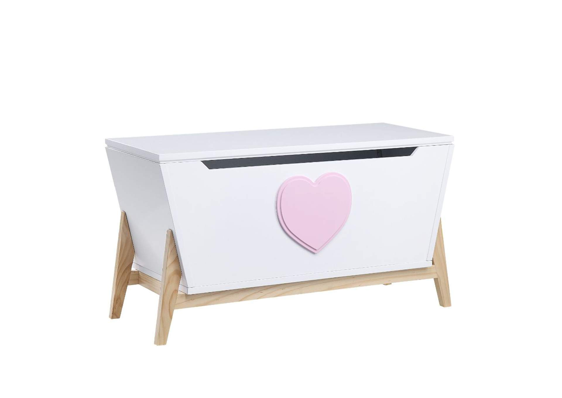 Padma White/Pink Youth Chest,Acme