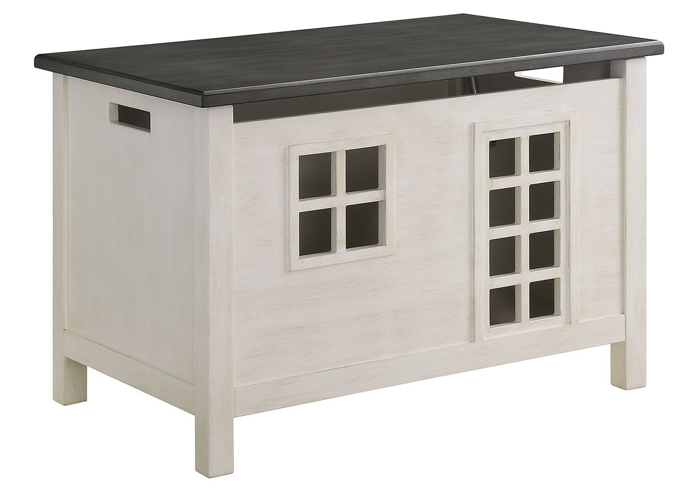 Doll Cottage White Youth Chest,Acme