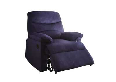 Image for Arcadia Blue Woven Recliner