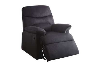 Image for Arcadia Black Woven Recliner