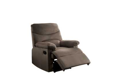 Image for Arcadia Brown Woven Recliner