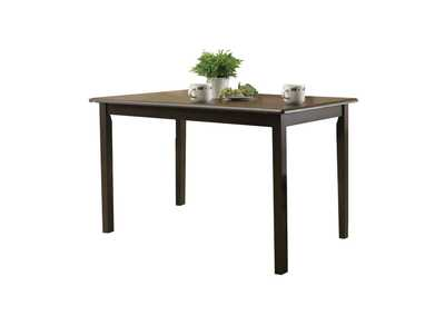 Serra II Cappuccino Dining Table