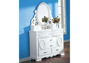 Image for Flora White Dresser