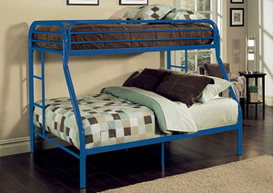 Image for Tritan Blue Twin XL/Queen Bunk Bed