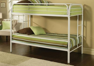 Image for Thomas White Twin/Twin Bunk Bed