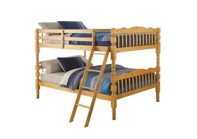 Homestead Natural Full Bunk Bed