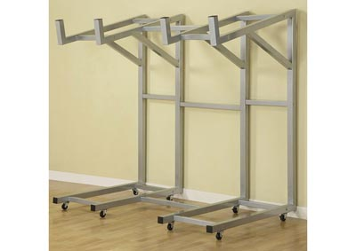 Display Silver Rack for Sofa
