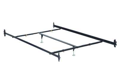 Frame Metal Queen Rail w/Center Support