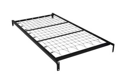Twin Metal Link-Top Spring Bed Frame