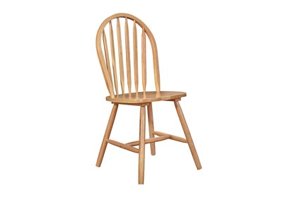 Farmhouse Oak Windsor Chair (Set of 4)