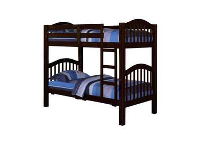 Heartland Espresso Twin/Twin Bunk Bed