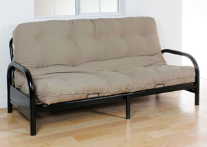 Nabila 8' Khaki Queen Futon Mattress