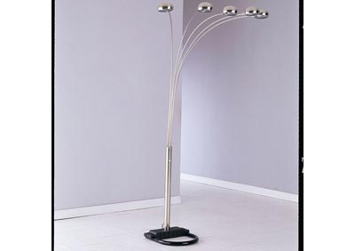 Lamp Nickel Floor Lamp