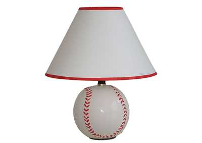 Image for All Star Baseball Table Lamp (Set of 8)