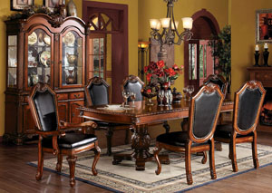 Image for Chateau De Ville Cherry China Cabinet