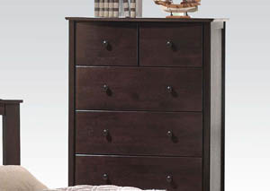 San Marino Walnut Chest