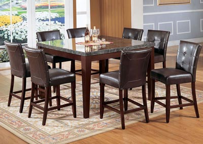Danville Espresso/Walnut Counter Chair (Set of 2)