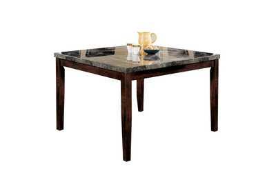 Danville Black Marble/Walnut Counter Table