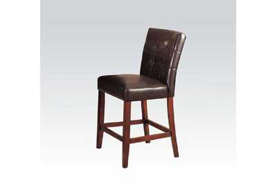 Bologna Espresso/Brown Counter Chair (Set of 2)