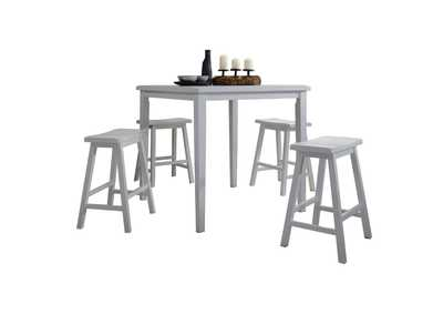 Gaucho Zeus 5 Piece Counter Height Dining Set