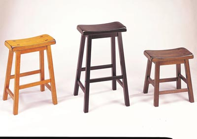 Image for Gaucho Walnut Counter Stool (Set of 2)