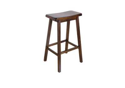 Image for Gaucho Walnut Bar Stool (Set of 2)