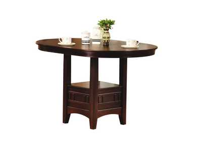 Lugano Dark Walnut Bar Table