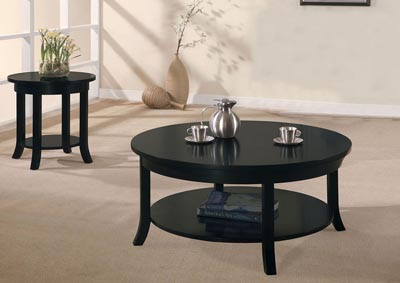 Gardena Black End Table