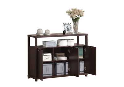 Image for Hill Espresso Console Table