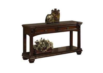Anondale Cherry Console Table