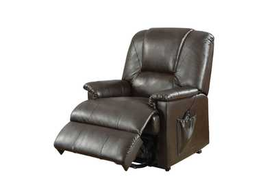 Image for Reseda Brown Power Lift Recliner w/Massage