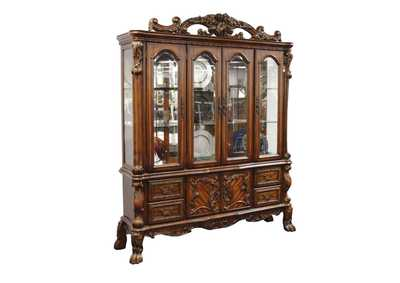 Image for Dresden Cherry Oak China Cabinet