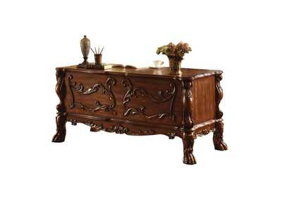 Dresden Cherry Oak Executive Desk